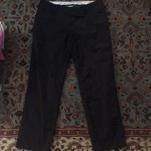 Ann Taylor black cropped pants